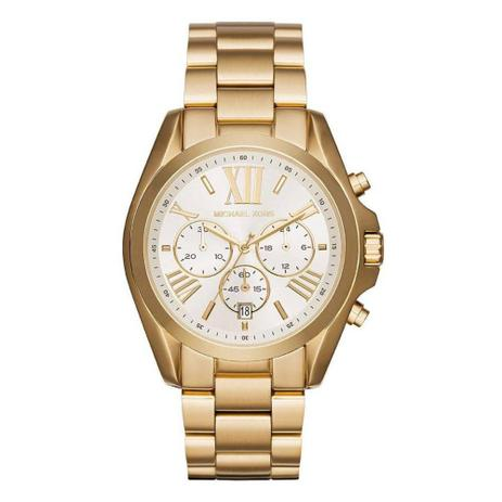 a0b11982e Relógio Michael Kors Feminino Mk6266 Cronógrafo Dourado - Relógio ...