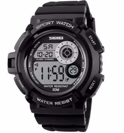 fb07b08bf48 Relógio Militar Digital Skmei S-shock Prova Dágua 1222 - Relógios ...