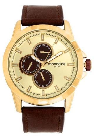 6d838b12f2c Relógio Mondaine 99226GPMVDH1 Marrom Original - Relógio Masculino ...