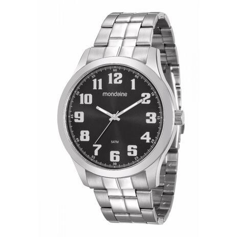 e5eaf4a232f Relógio Mondaine Analógico Masculino Prata 99195g0mvne1 - Relógio ...