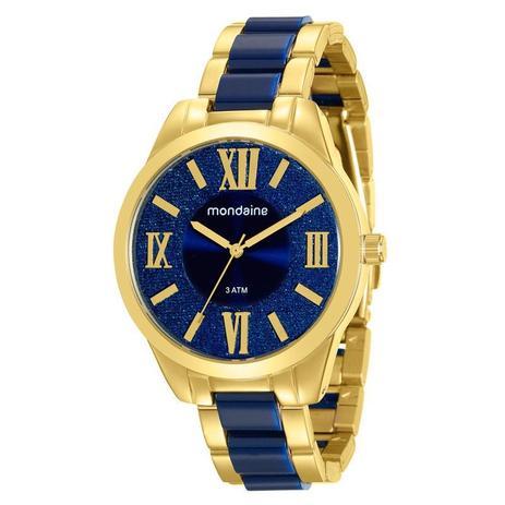 4954795d5f4 Relógio Mondaine Feminino Analógico Dourado 76682LPMVDE1 - Relógio ...