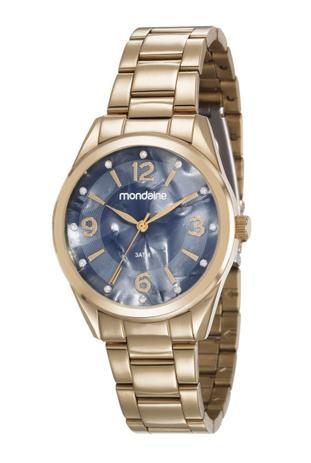 c8c09baba90 Relógio Mondaine Feminino Analógico Dourado 83386LPMVDE2 - Relógio ...