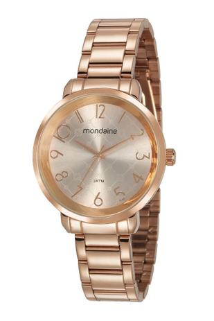 574cba6bf52 Relógio Mondaine Feminino Analógico Rosé 53657LPMVRE2 - Relógio ...