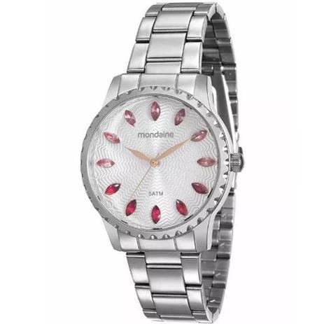 b332ac6487a Relógio Mondaine Feminino Prata 99170l0mvne4 - Relógio Feminino ...