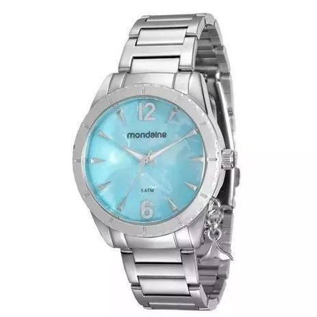 c9194b3bf57 Relógio Mondaine Feminino Prata Ping Sereia 76643l0mvne3 ...