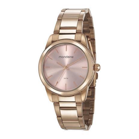 f2b9f37a909bb Relogio Mondaine Feminino Ref  53676lpmvre1 Fashion Rosé - Relógio ...