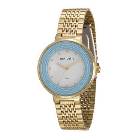 48e0e705943 Relogio Mondaine Feminino Ref  99122lpmvde2 Fashion Dourado ...