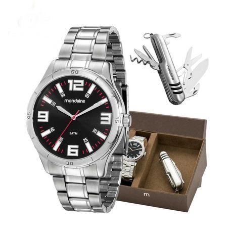 Relógio Mondaine Kit Masc. 99059g0mvne1, C  Garantia E Nf - Relógio ... e6aafad88a