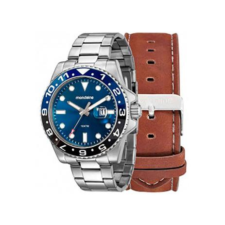 8341a786674bd Relógio Mondaine Masculino Troca Pulseiras 99221G0MVNA1 - Relógio ...
