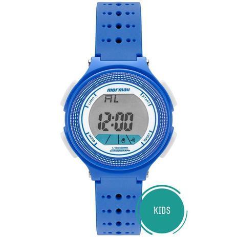 5d2ab77963f Relógio Mormaii Digital Infantil Azul Nxt Ref  Mo0974 8a - Relógio ...