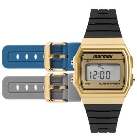 227d21781db Relógio Mormaii Digital Troca Pulseiras MOJH02AF 8D - Relógio ...