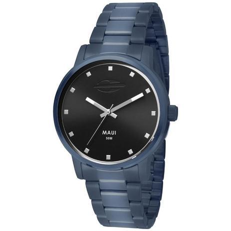 c89c10b9a59 Relógio Mormaii Feminino Ref  Mo2035fs 4p Casual Azul - Relógio ...
