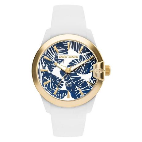 Relógio Mormaii Feminino Ref  Mo2035it 8b Branco Esportivo - Relógio ... 258eb882c8