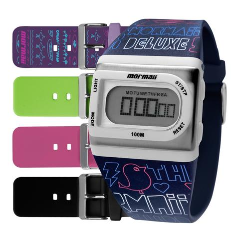 Relógio Mormaii Feminino Troca Pulseira Fzg t8q, Nf+garantia ... e7b74c786f