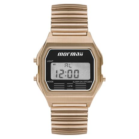 61f3d138e7e38 Relógio Mormaii Feminino Vintage Digital MOJH02AX 4J - Relógio ...