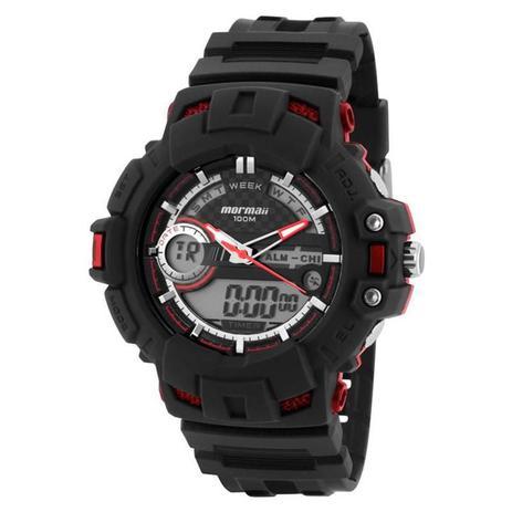 09a19fb50e1e1 Relógio Mormaii Masculino - MO1091A-8R - Technos - Relógios ...