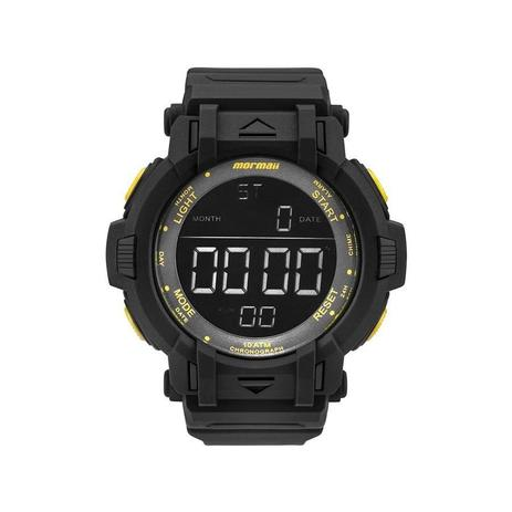 3772bc2720313 Relógio Mormaii Masculino Ref  Mom08111c 8y Big Case Digital ...