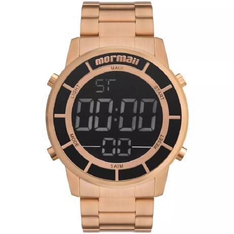 38c446e473957 Relógio Mormaii Unissex Digital Maui Rosê MOBJ3463DF 4J - Relógio ...