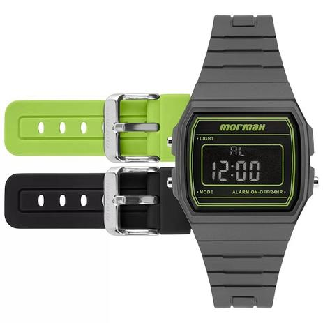 a8eca721a2e Relógio Mormaii Unissex MOJH02AP 8V Troca Pulseira - Relógio ...