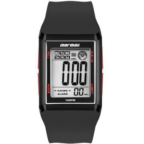 3685033729d Relógio Mormaii Unissex Wave Digital MO1800 8R Quadrado - Relógio ...