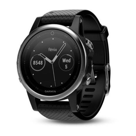 d63b7ef3d2e Relógio Multiesportivo Garmin Fenix 5S Preto com Monitor Cardíaco no Pulso