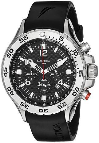 6938c89e196 Relógio Nautica Quartz Silicone N14536G - Relógios - Magazine Luiza