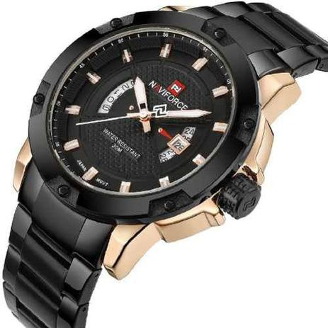 d4ca50d9b1d Relógio Naviforce 9085 Luxo - Relógio Masculino - Magazine Luiza