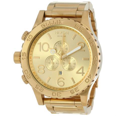 3c50e55ae0 Relógio nixon dourado a083502-00 - Relógio de Pulso - Magazine Luiza