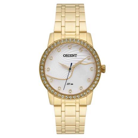 1cf1f8e4605 Relógio Orient Analógico Multifunção Feminino Swarovski FGSS0085 B1KX