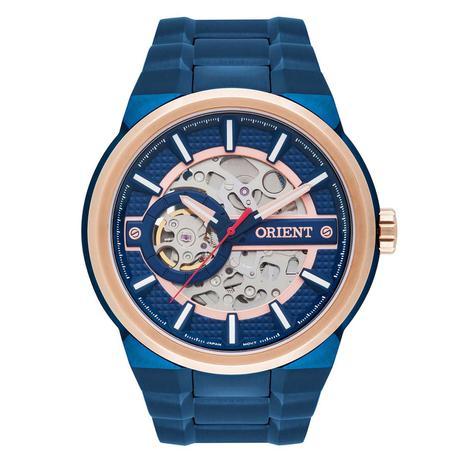 144f63b741f Relógio Orient Automático Masculino NH7BR001 D1DX Esqueleto ...