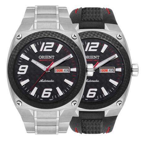 ee574a6bfd9 Relógio Orient Automático Masculino Troca Pulseira SpeedTech Edição  Ilimitada 469FT001 P2SX