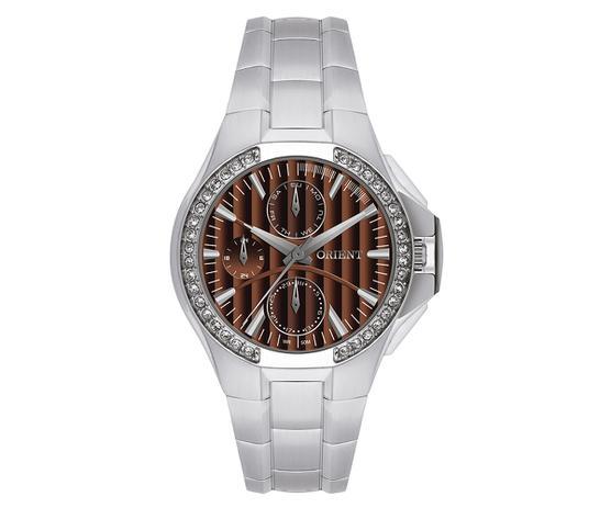 2a056f55229 Relógio Orient Feminino Eternal Cristais Swarovski Analógico FBSSM005 M1SX