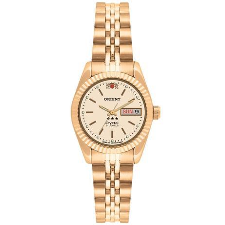 2d0f6199deb Relógio Orient Feminino Ref  559eb1x C1kx - Automático - Relógio ...