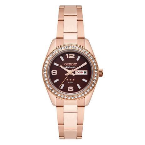 f5b54e158f4 Relógio Orient Feminino Ref  559rg008 N2rx Rosé Automático - Relógio ...