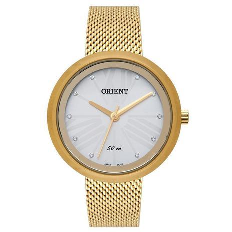 a4c03b8e5c1 Relógio Orient Feminino Ref  Fgss0117 S3kx Fashion Dourado - Relógio ...
