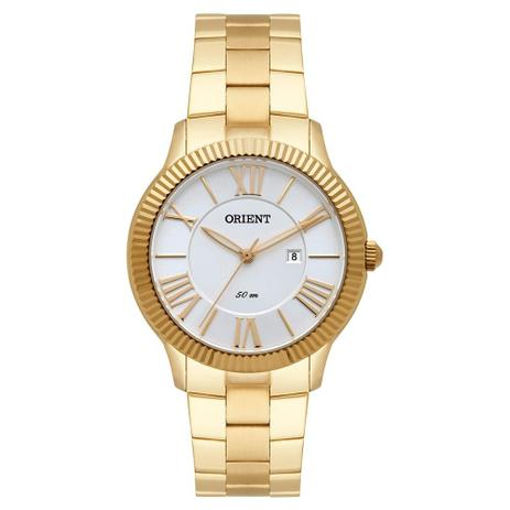 7905a6538f4 Relógio Orient Feminino Ref  Fgss1145 S3kx Casual Dourado - Relógio ...