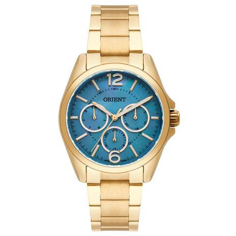902a826ced9 Relógio Orient Feminino Ref  Fgssm054 G2kx Multifunção Dourado ...