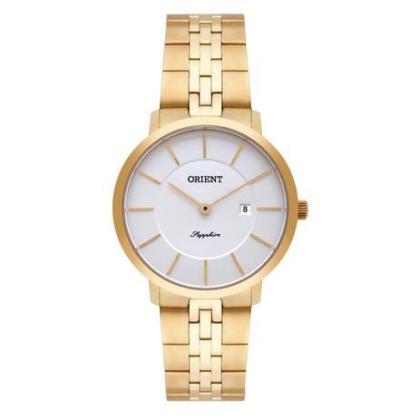 df3ed53fd7547 Relógio Orient Feminino Ref  Fgsss005 S1kx Slim Dourado - Relógio ...