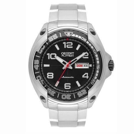 3057646d44f Relógio Orient Flytech Automático Titânio Masculino Analógico 469TI005 P2GX