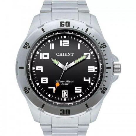 3641d9e47df Relógio Orient Masculino Analógico Prata MBSS1155A P2SX - Relógio ...