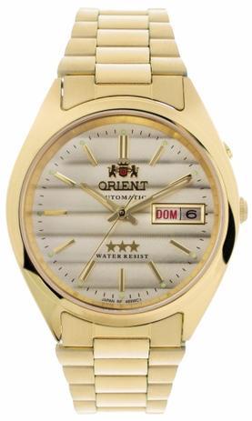 86e072ec20a Relógio Orient Masculino Automático Dourado 469WC2C1KX - Relógio ...
