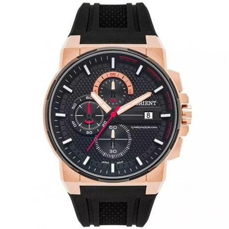 1a6bffd1c84 Relógio Orient Masculino Preto Rosê Mtspc009 P1px - Relógio ...