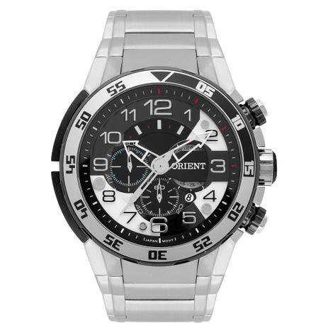 e7f9db0cd73 Relógio Orient Masculino Ref  Mbssc184 P2sx Cronógrafo Big Case ...