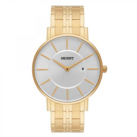 0b33c1458cd Relógio Orient Masculino Ref  Mgss1091 S1kx Slim Dourado - Relógio ...