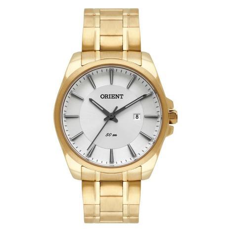 980aba665e8 Relógio Orient Masculino Ref  Mgss1147 S1kx Social Dourado - Relógio ...