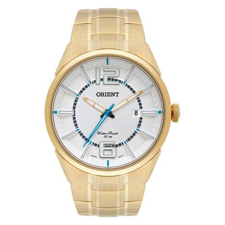 248da36ad99 Relógio Orient Masculino Ref  Mgss1152 S2kx Casual Dourado - Relógio ...