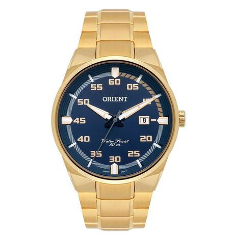 80a1222c60c Relógio Orient Masculino Ref  Mgss1161 D2kx Casual Dourado - Relógio ...