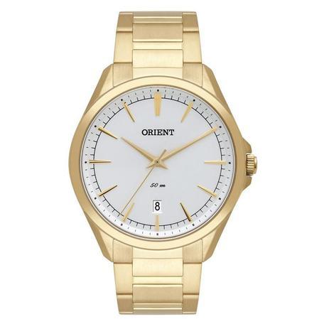 1c4737f8b49 Relógio Orient Masculino Ref  Mgss1166 S1kx Social Dourado - Relógio ...