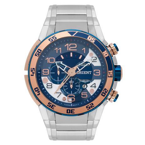 3db2fc8ee1d Relógio Orient Masculino Ref  Mtssc015 D2sx Cronógrafo Big Case ...