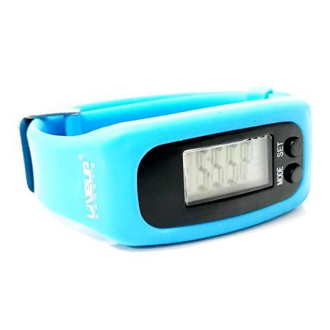 65bd250a1f9 Relógio pedômetro contador de passos e calorias azul - Liveup ...